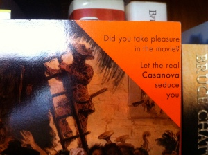 Penguin Casanova Cover Blurb